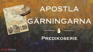 APOSTLAGÄRNINGAR