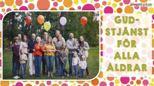 Gudstjänst för alla åldrar